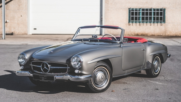 '56 Mercedes-Benz SL190
