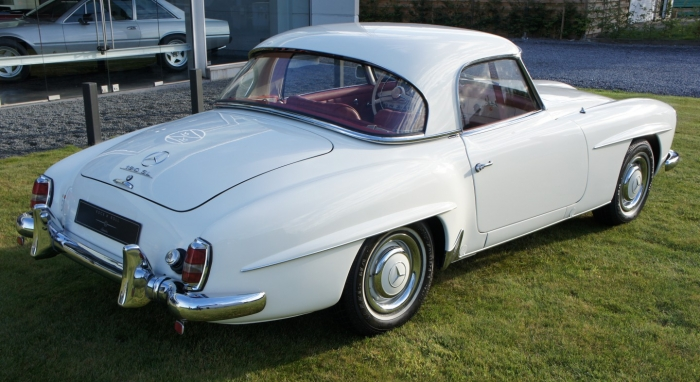 '62 Mercedes Benz 190 SL