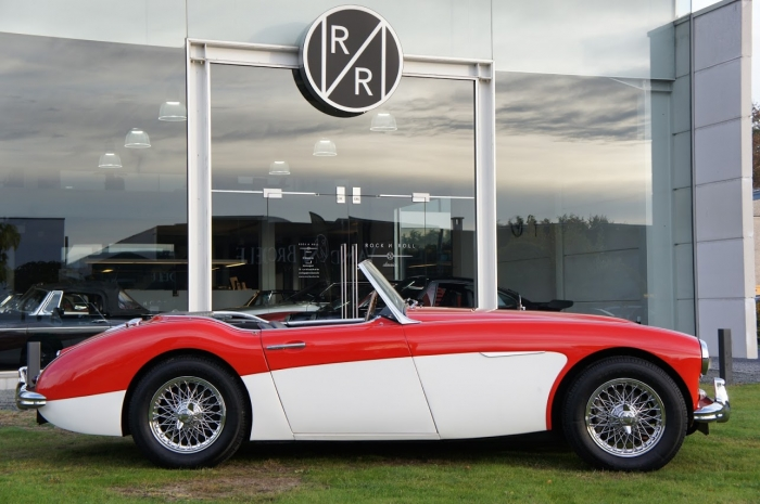 TOO LATE '62 Austin Healey 3000 MK1 BT7 – fully restored