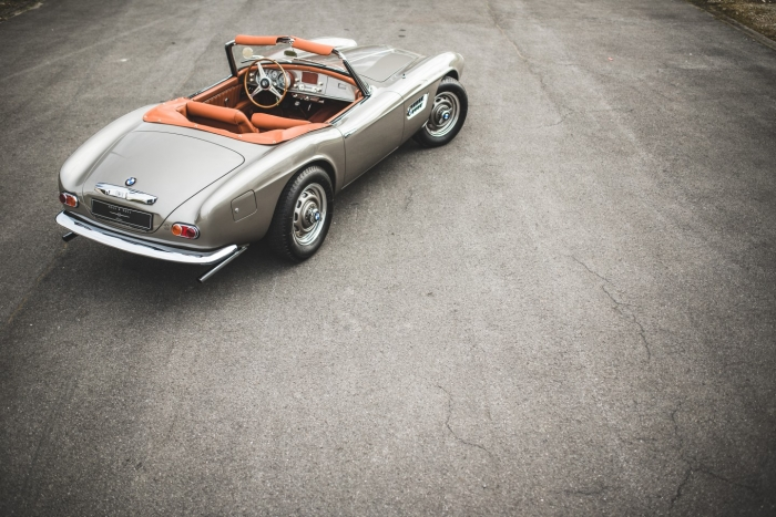 SOLD '59 BMW 507 Series II