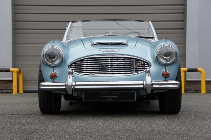 SOLD '60 Austin Healey 3000MK1 BN7 – nuts & bolts restoration – two seater version