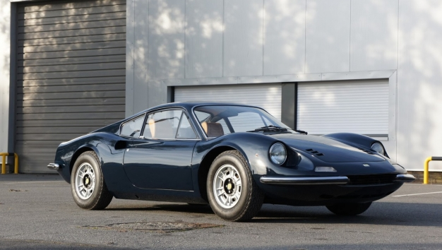 SOLD '71 Ferrari Dino  246GT – Classiche certified – matching numbers & colors - EU car