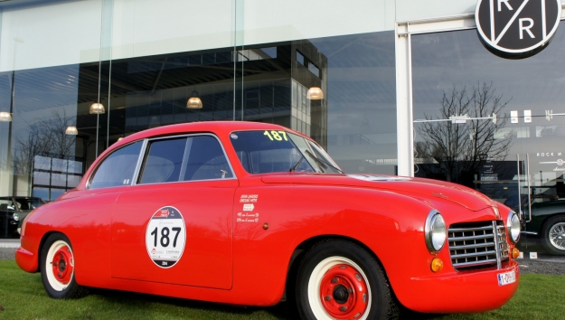 SOLD '50 Fiat Abarth Touring Superleggera - Mille Miglia eligible
