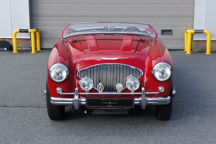 SOLD '56 Austin Healey 100/4 BN2 - overdrive