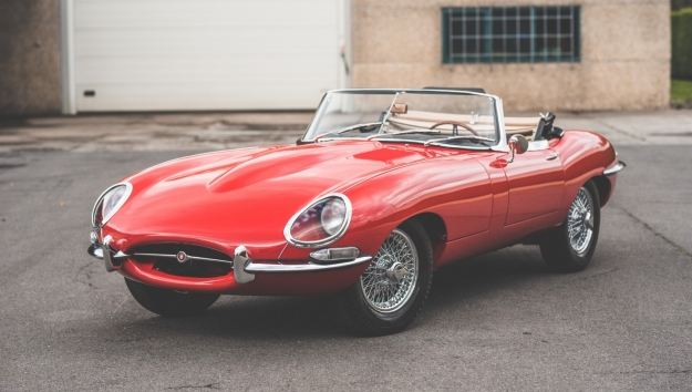 '61 JAGUAR E-TYPE 3.8 SERIES 1 FLATFLOOR OTS