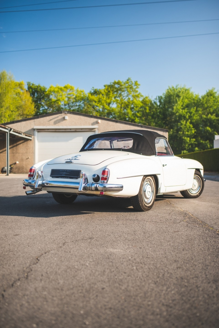 '62 MERCEDES-BENZ 190 SL - MATCHING NUMBERS- ORIGINAL BIG-WINDOW HARDTOP