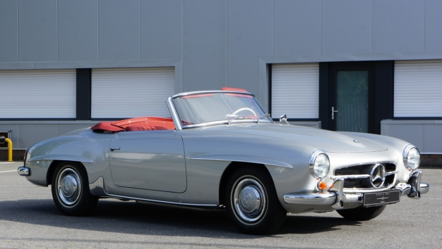 SOLD '62 Mercedes-Benz 190SL – fully restored to concours condition