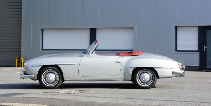 '62 Mercedes-Benz 190SL – fully restored to concours condition