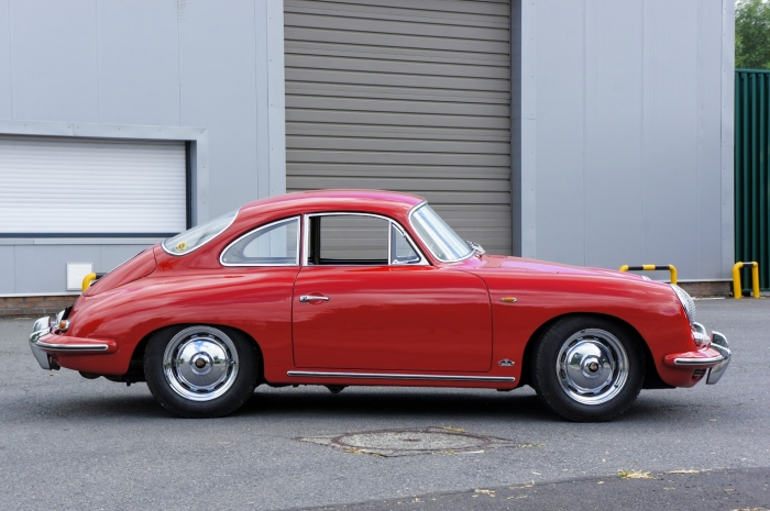 SOLD '62 Porsche 356 B 1600S (T6) – Euro car – full matching numbers