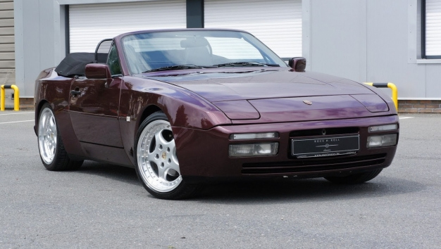 SOLD '90 Porsche 944 S2 convertible - Belgian Car - full service history