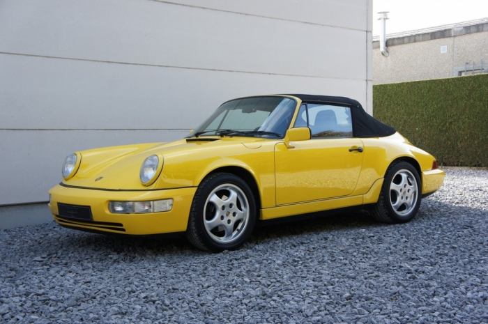 SOLD '91 Porsche 964 Carrera 4 Cabrio