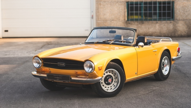 TOO LATE '72 Triumph TR6